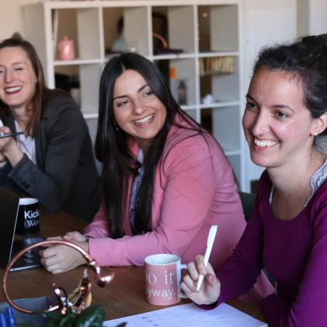 Canva - Three Women Smiling